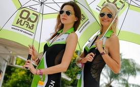 Ngất ngây với các kiều nữ bên đường đua Malaysia