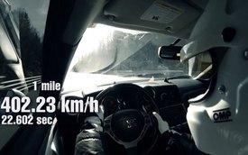 """Nissan GT-R Goliath đạt tốc độ """"kịch kim"""" 402 km/h"""