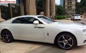 """Rolls-Royce Wraith đầu tiên đến Trung Quốc với giá """"chát"""""""
