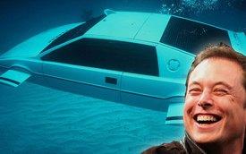 Giám đốc Tesla chi 866.000 USD mua xe hơi-tàu ngầm James Bond