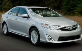 Toyota Camry không còn là xe nên mua của năm 2013