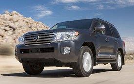 Toyota Land  Cruiser mới sẽ tiết kiệm nhiên liệu hơn