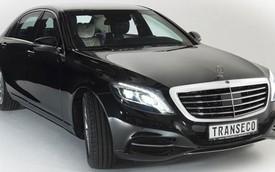Mercedes-Benz S-Class 2014 bọc thép - Lựa chọn mới cho các nguyên thủ