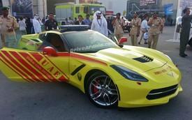 Chevrolet Corvette 2014 được dùng làm xe cứu hỏa