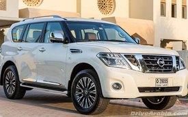 Nissan Patrol 2014: Thay đổi không đáng kể