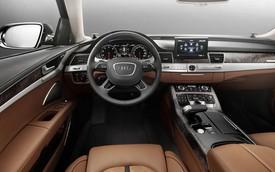 Đắm mình trong nội thất sang trọng của Audi A8 L W12 đặc biệt