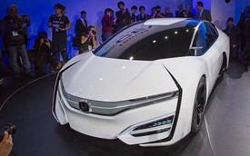 Honda FCEV - Xe mang kiểu dáng lạ đến từ Nhật Bản