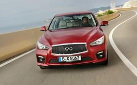 """Xe sang Infiniti Q50 """"mượn"""" động cơ từ Mercedes-Benz"""