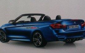 """BMW M4 Convertible 2015 bị rò rỉ """"ảnh nóng"""""""