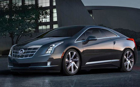 """Cadillac ELR 2014 - Đàn em """"sang chảnh"""" của Chevrolet Volt"""