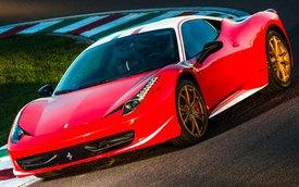 Một Ferrari 458 Italia nhiều màu sắc hơn