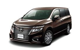 Xe MPV hạng sang Nissan Elgrand thêm hiện đại với đèn pha LED