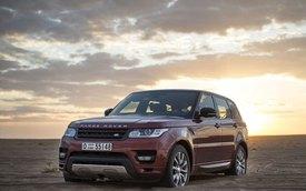Range Rover Sport - Xe vượt sa mạc nhanh nhất thế giới