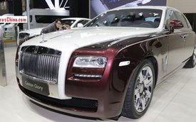 Rolls-Royce lại trình làng Ghost phiên bản đặc biệt mới