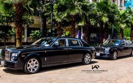 """Cặp đôi Rolls-Royce Phantom rồng biển gần giống nhau lên """"báo Tây"""""""