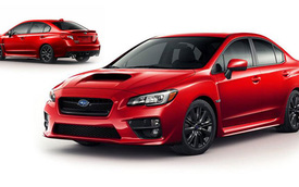 Diện kiến xe sedan tính năng cao Subaru WRX 2015
