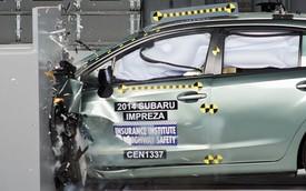 Cặp đôi xe Subaru nhận danh hiệu an toàn cao nhất