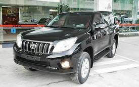 Toyota Land Cruiser Prado và Hiace bị thu hồi tại Việt Nam