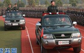 Xe diễu hành mới của Tổng bí thư Tập Cận Bình