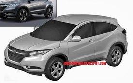 Xe SUV cỡ nhỏ mới của Honda bất ngờ lộ diện