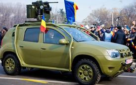 Dacia Duster chống đạn - Xe thay thế siêu rẻ cho Humvee