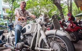 """Chủ bộ sưu tập môtô """"khủng"""" tại Hà thành lên """"báo Tây"""""""