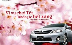 Mua Toyota Corolla Altis, không lo hết xăng