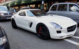 Chiếc siêu xe Mercedes-Benz SLS AMG ồn ào nhất thế giới