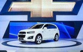 Chevrolet Captiva 2014 ra mắt Đông Nam Á