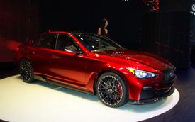 Infiniti Q50 Eau Rouge - Xe sang sử dụng động cơ siêu xe