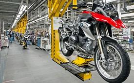 Chiếc BMW GS thứ 500.000 xuất xưởng