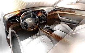 Hyundai hé lộ thêm nội thất của Sonata 2015