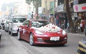 Tuấn Hưng đón dâu bằng xế sang bạc tỷ