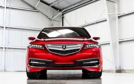 Rò rỉ thông số của sedan hạng sang cỡ trung Acura TLX 2015