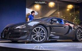 """""""Ông hoàng"""" Bugatti Veyron Super Sport đầu tiên đến Hồng Kông"""