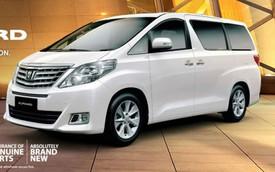 Xe đa dụng hạng sang Toyota Alphard mới có giá hơn 100.000 USD
