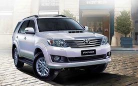 Toyota Fortuner có thêm 2 bản trang bị mới