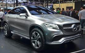 Mercedes-Benz ML Coupe - Thách thức mới của BMW X6