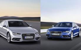 """Audi giới thiệu A7 và S7 2015 với đèn pha """"ma trận"""" nổi tiếng"""