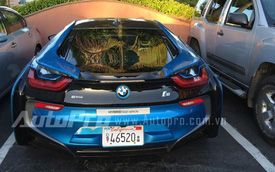 """Hình ảnh """"bằng xương, bằng thịt"""" của xe thể thao BMW i8"""