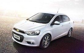 Chevrolet giới thiệu Sonic phiên bản nâng cấp mới