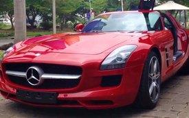 """Siêu xe """"cửa cánh chim"""" Mercedes-Benz SLS AMG 2014 đã về Việt Nam"""