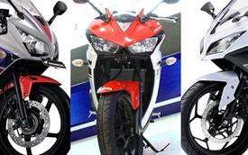 """So sánh """"tam anh hùng"""" của dòng môtô 250cc tại Đông Nam Á"""