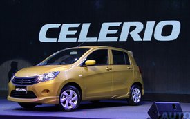Xe rẻ và tiết kiệm xăng Suzuki Celerio ra mắt Đông Nam Á