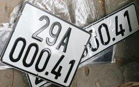 Biển đăng ký ôtô, xe máy tại Hà Nội có thêm đầu số 40
