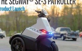 Segway SR-3 Patroller - Xe tuần tra 3 bánh cho cảnh sát