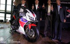 Honda CBR250R 2014 đèn pha đôi chính thức đến Đông Nam Á