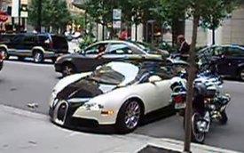Màn lái thử siêu xe Bugatti Veyron ngắn và tệ nhất thế giới