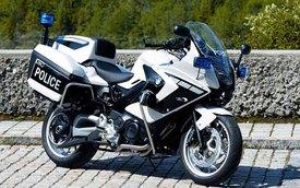 Cảnh sát ngày càng chuộng môtô BMW