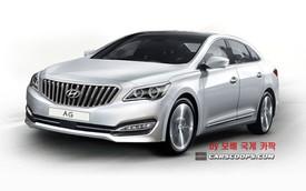 Hyundai AG - Xe sedan mới nằm giữa Azera và Genesis